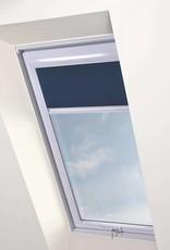 Intura - Multistop rolgordijn voor Intura Vista met wit alumnium frame