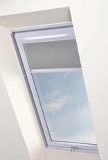 Intura - Multistop rolgordijn wit aluminium frame