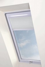 Intura - Multistop rolgordijn wit aluminium frame voor kunststof dakramen