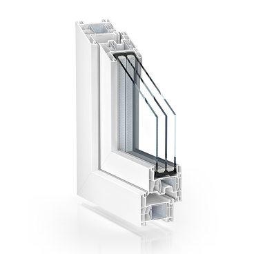 Intura kunststof kozijnen en deuren - standaard wit