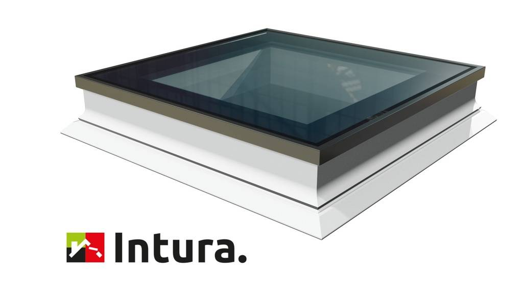 Intura - Platdakraam Intura PGX B9 - de vlakke lichtkoepel met zonwerend☀️ triple glas HR+++