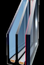Intura - Platdakraam Intura PGX B9 - vaste vlakke lichtkoepel met zonwerend☀️ triple glas HR+++