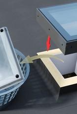 Intura - Lichtkoepel renovatiemodule Intura DGP A1 70x70cm - upgrade oude lichtkoepels