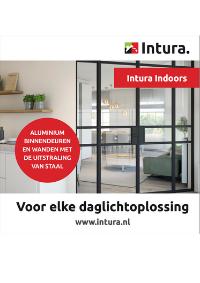 Brochure Intura Indoors - aluminium binnendeuren met staallook augustus 2021