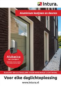 Brochure Intura aluminium kozijnen en deuren Alubasica september 2021