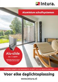 Brochure Intura aluminium schuifsystemen Aluslide september 2021