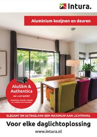 Brochure Intura aluminium kozijnen en deuren AluSlim en Authentica september 2021