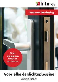 Brochure Intura aluminium kozijnen deur en raambeslag september 2021
