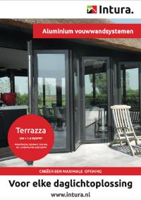 Brochure Intura aluminium vouwwandsystemen Terrazza september 2021
