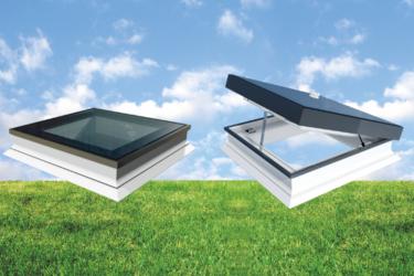 Intura Platdakramen voor plat dak - HR++ glas