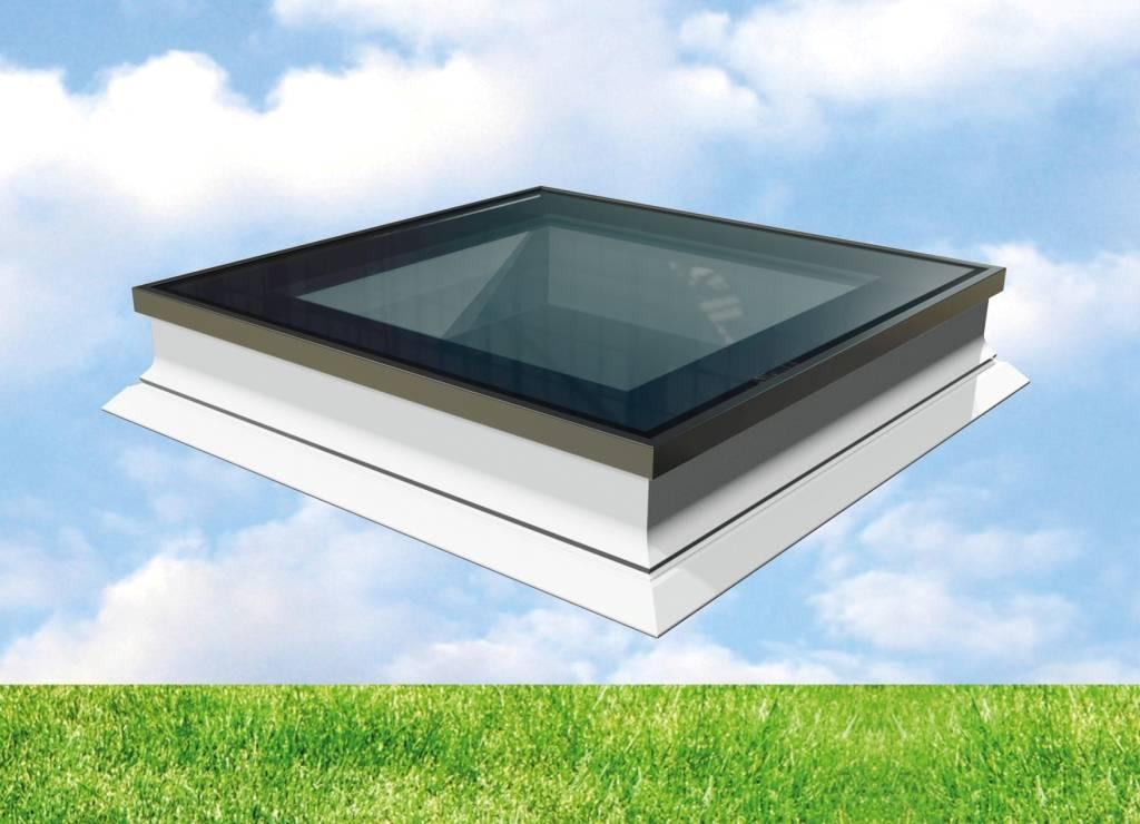 Intura - Platdakraam Intura PGX A1 - de vlakke lichtkoepel met HR ++ glas