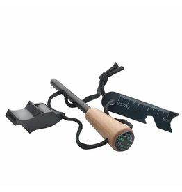MacGyver Firestick Met Fluit, Kompas en Flesopener