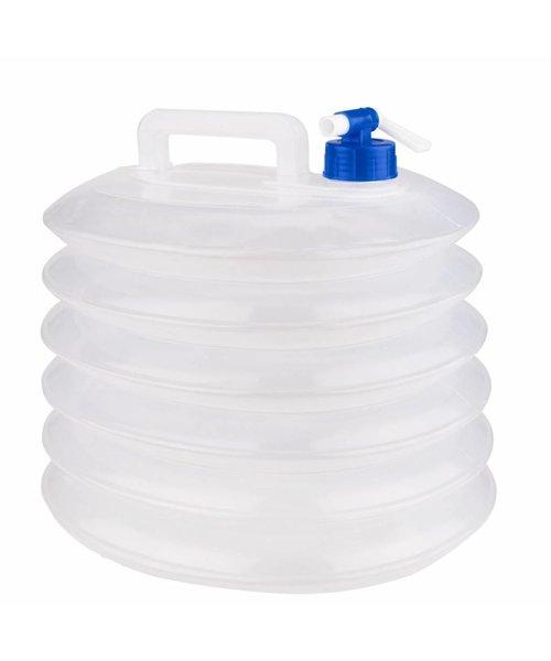Abbey Camp® Opvouwbare Watertank met Tapkraan - 15L