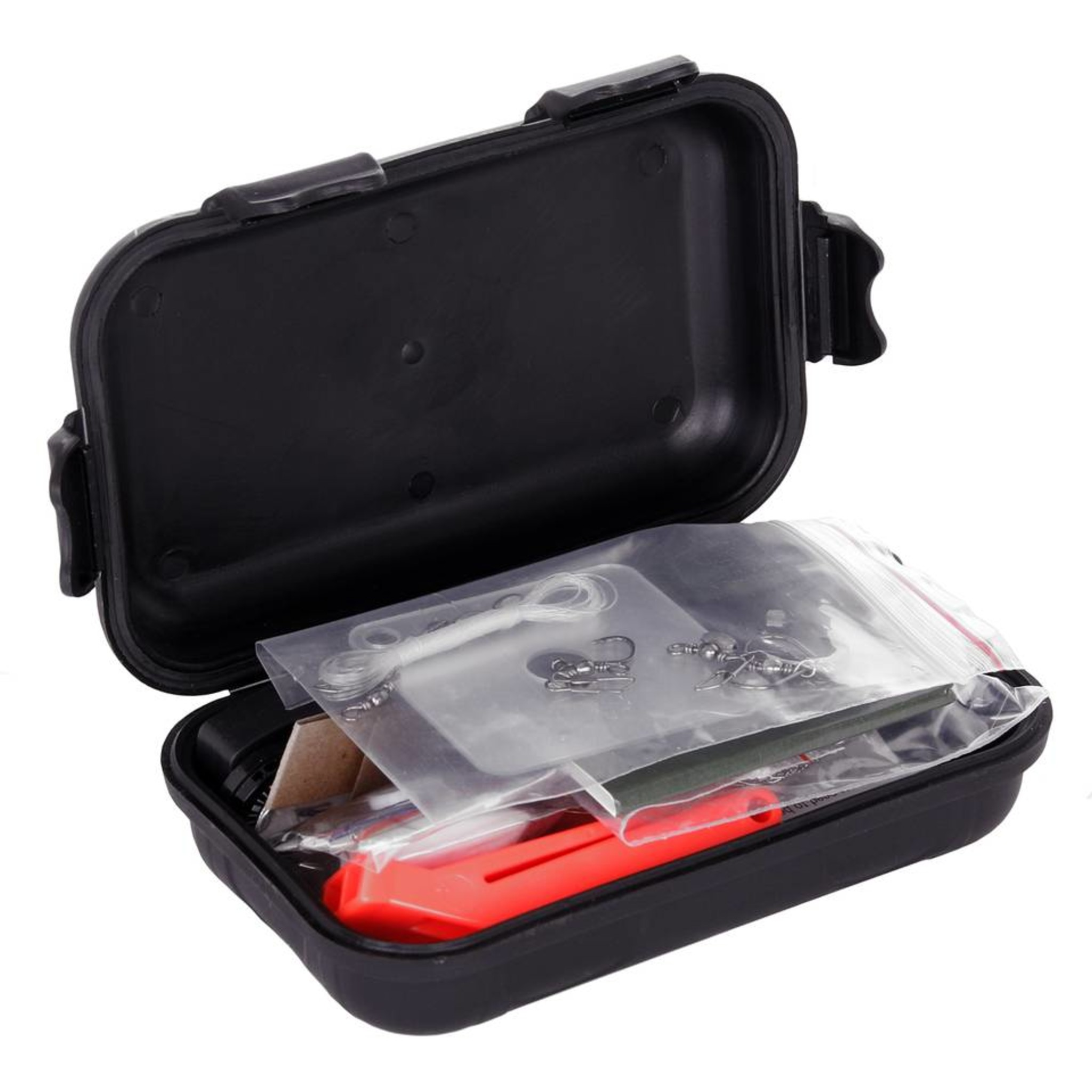 Survival Kit Waterproof - Zwart