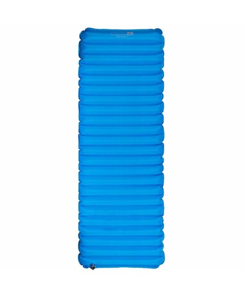 Abbey Compact Eenpersoons Luchtbed 193x70x9cm Blauw