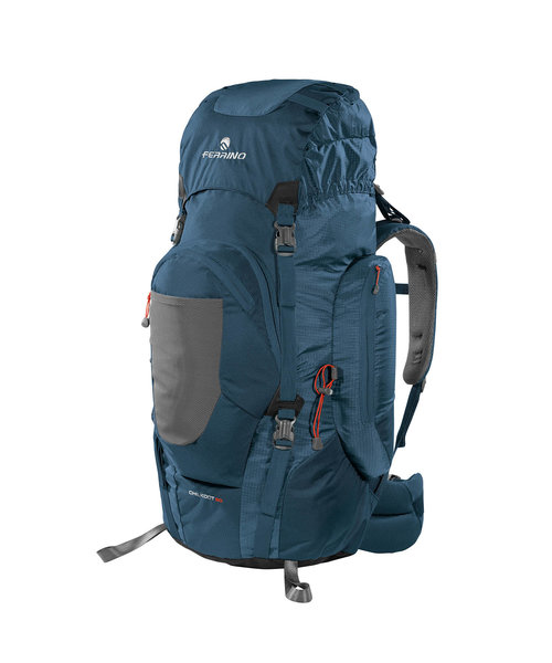 Ferrino Backpack Front Loader Rugzak Chilkoot 90 Liter Blauw 88x48x35 cm