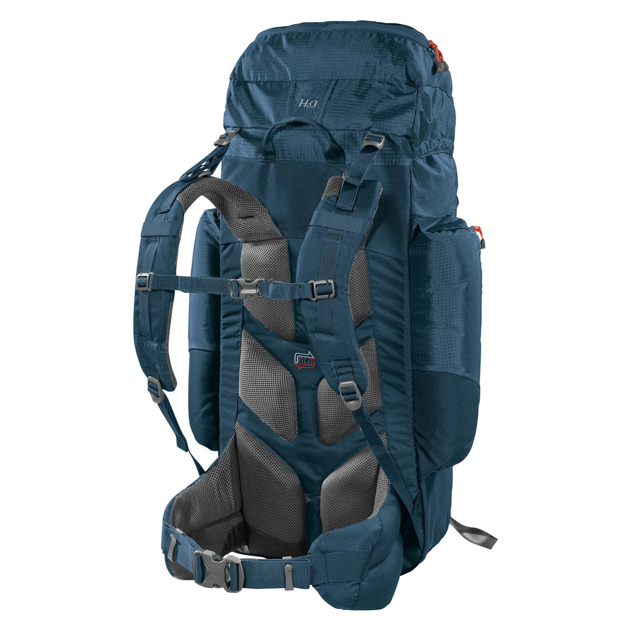 Ferrino Backpack Front Loader Rugzak Chilkoot 90 Liter Blauw 88x48x35 cm