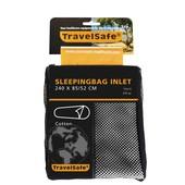 Travel Safe Lakenzak Katoen Voor Mummy Slaapzak 240X85-52cm