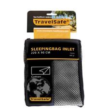 Travel Safe Lakenzak Katoen Voor envelop Slaapzak 220X90cm