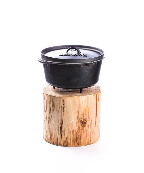 Valhal Outdoor Dutch Oven met Pootjes 13 Liter