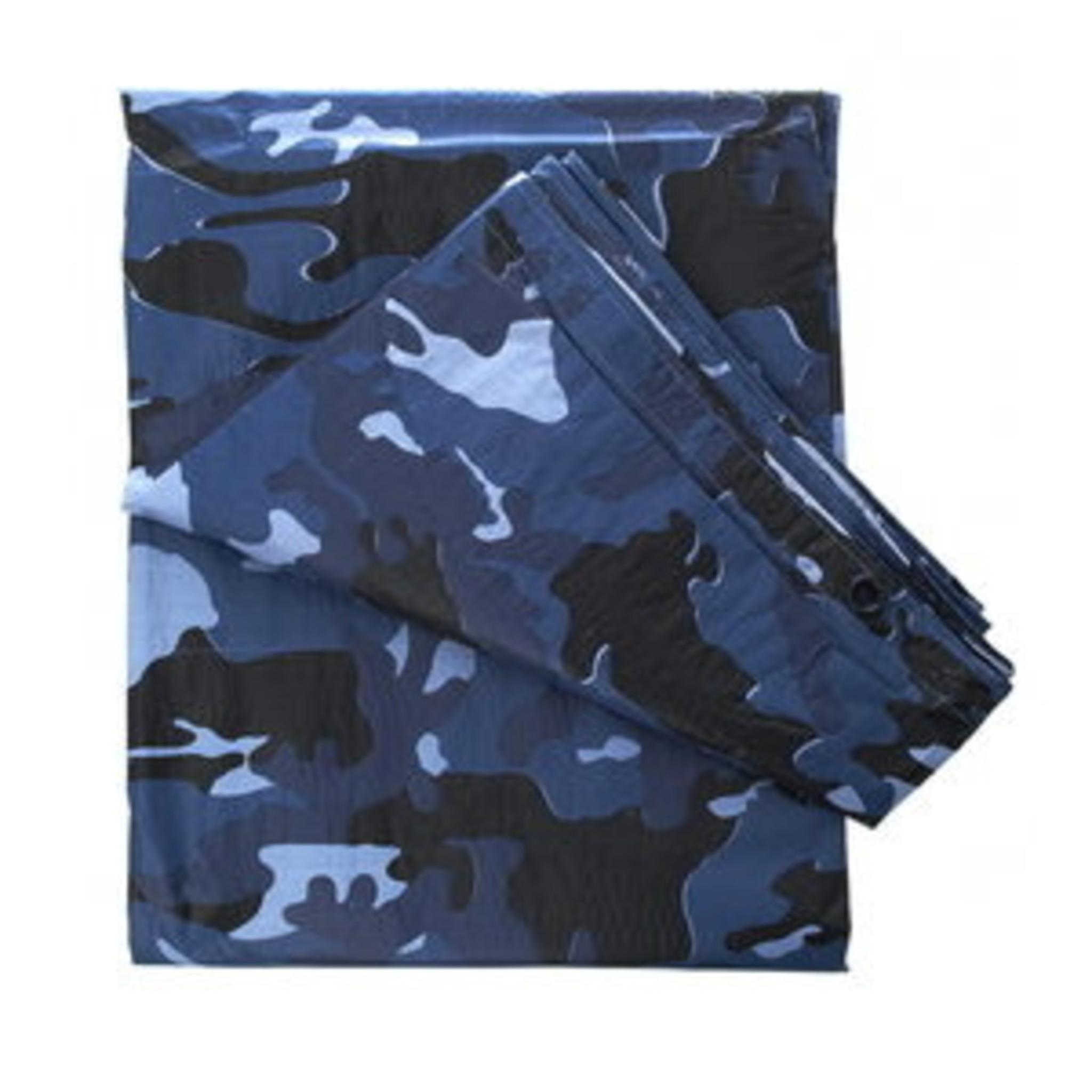 Camouflage Zeil Sky Blue 3,5 X 6 Meter