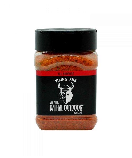 Valhal Outdoor All purpose BBQ rub - 225 Gram