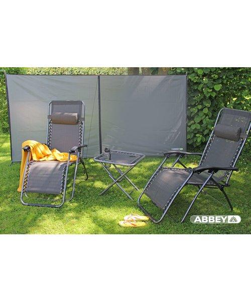 Abbey Camp® Windscherm Polyester 3 Meter