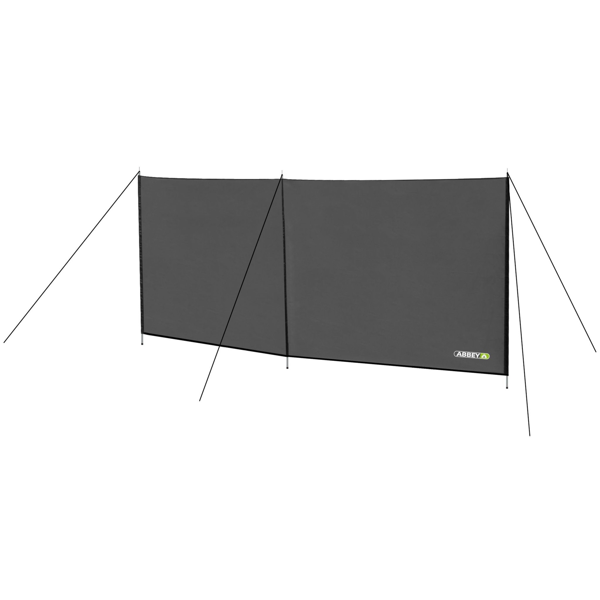 Abbey Camp® Windscherm Polyester 3 Meter