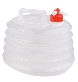 Abbey Camp® Opvouwbare Watertank met Tapkraan - 10L