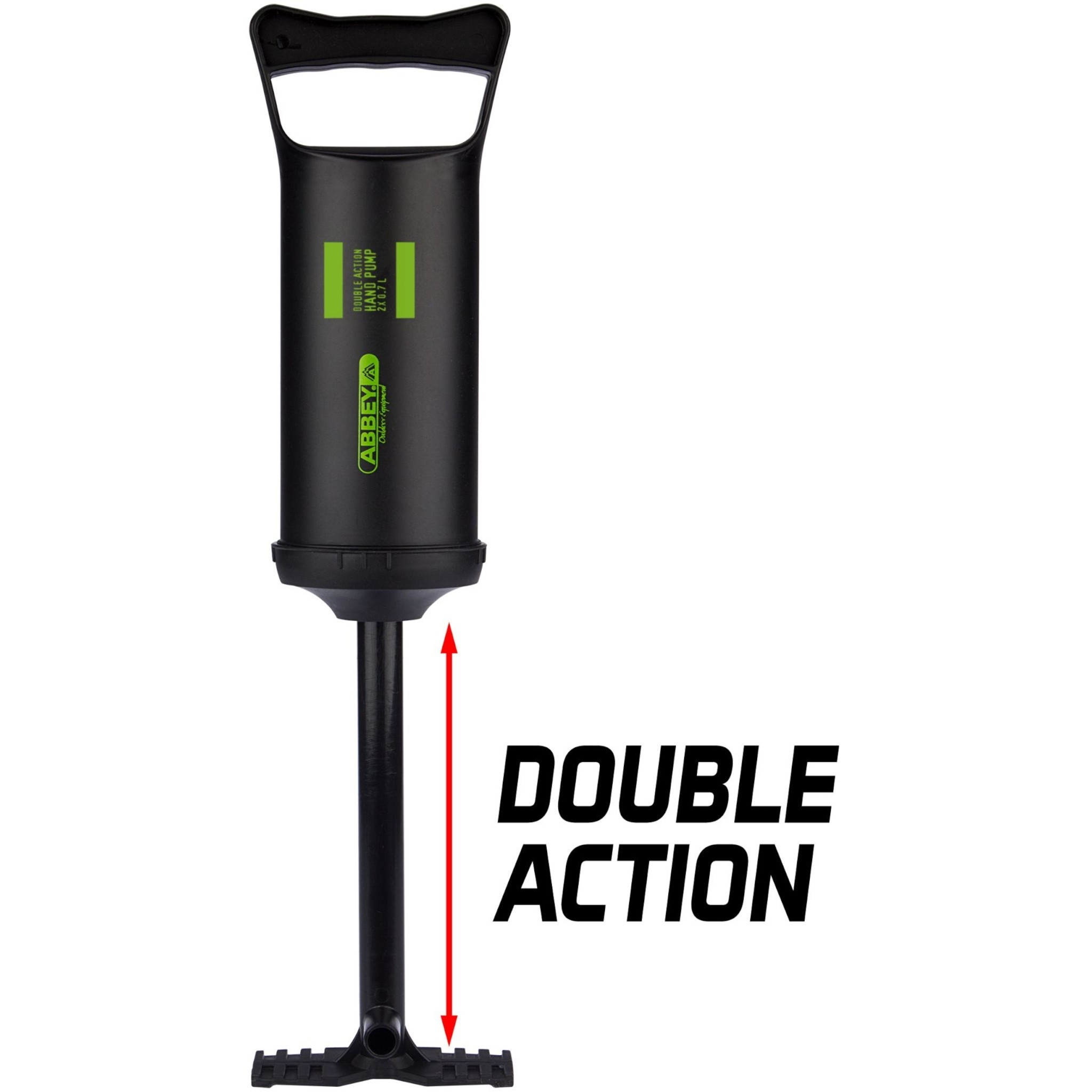 Abbey® Handpomp Double Action - 2x 0,7 L