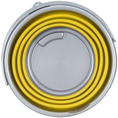 Abbey Camp® Emmer Opvouwbaar - 15 Liter - Geel