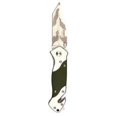 Mes + clip H254G10 - Groen