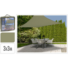Schaduwdoek - 3x3 meter - Groen