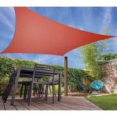 Schaduwdoek met UV bescherming UPF 50+ - 3x3 meter - Terra
