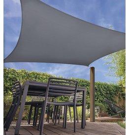 Schaduwdoek met UV bescherming UPF 50+ - 3x3 meter - Donker Grijs