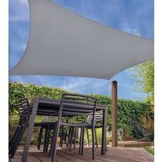 Schaduwdoek met UV bescherming UPF 50+ - 5x5 meter - Licht Grijs