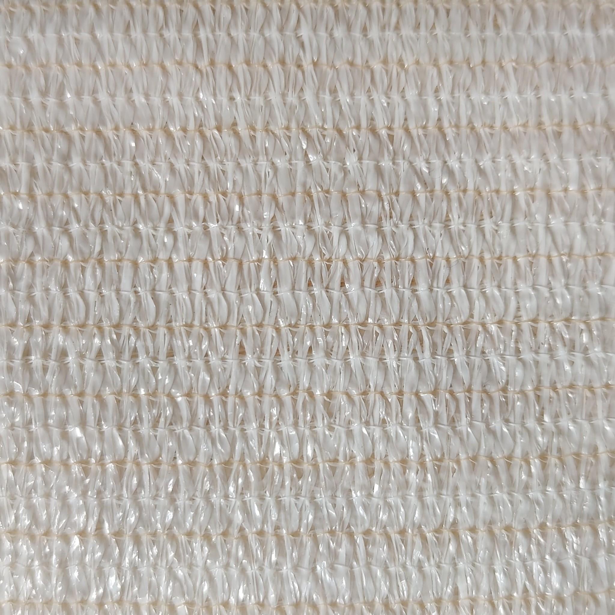 Schaduwdoek Open Structuur Driehoek - 3 m - Creme