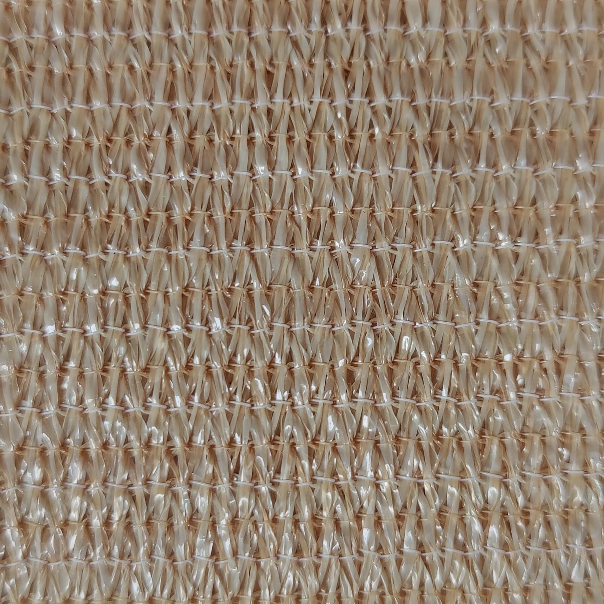 Schaduwdoek Open Structuur - 3x3 meter - Zandkleur