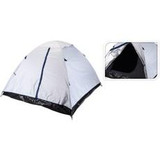 Tent Monodome Isolerend/Verduisterend - 2 Persoons - Wit / Zwart