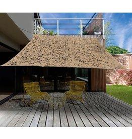 Camouflage / Schaduw Net - 2x3 meter - Zandkleur