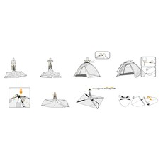 Abbey® Tent Easy-Up - 2 Persoons