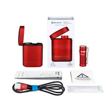 Olight Zaklamp Baton 3 Premium Kit - Red - Max 1200 Lumen