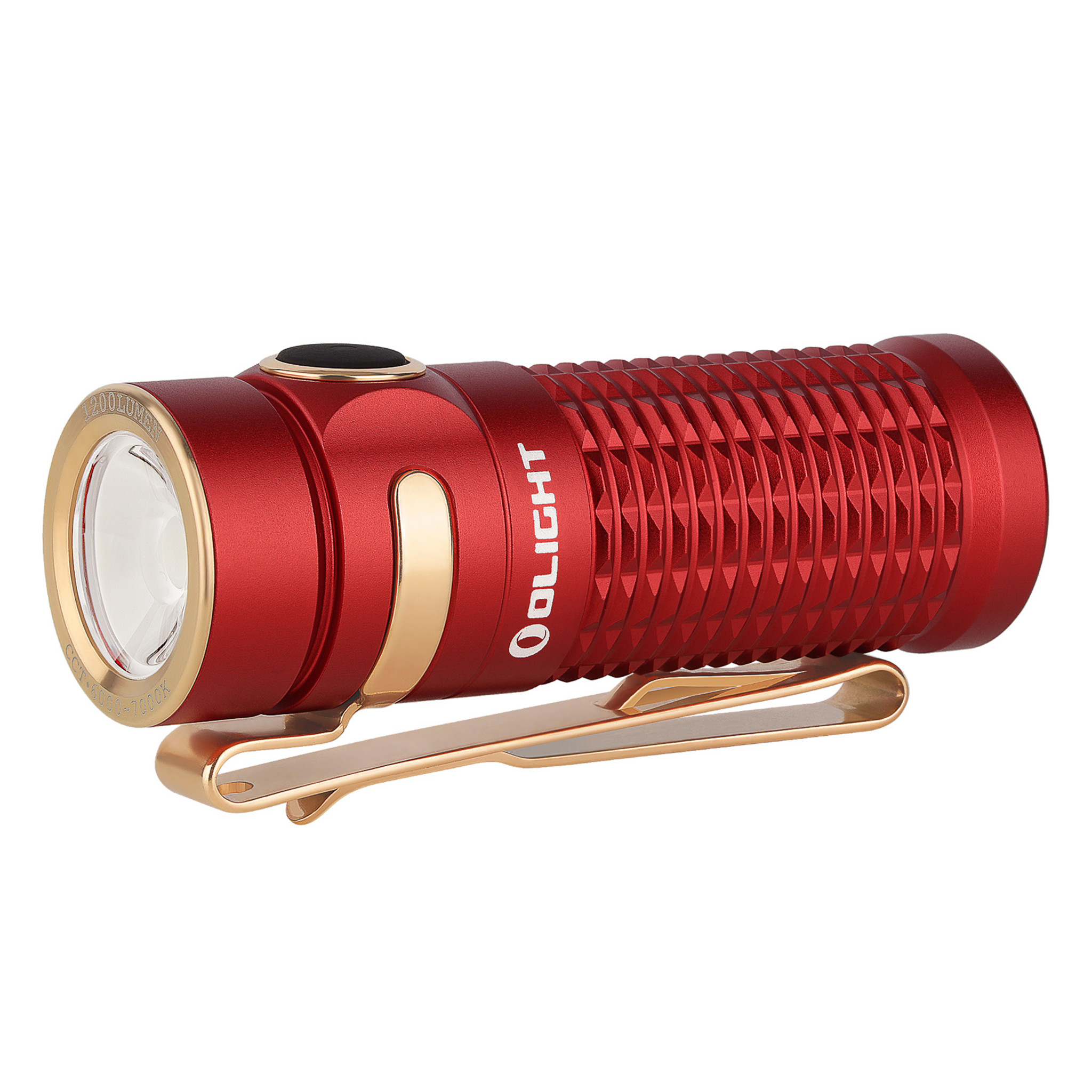 Olight Zaklamp Baton 3 - Red - Max 1200 Lumen