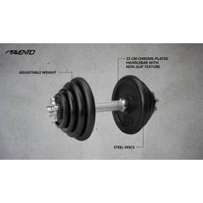 Avento® Halter Verstelbaar Staal - 15 Kg
