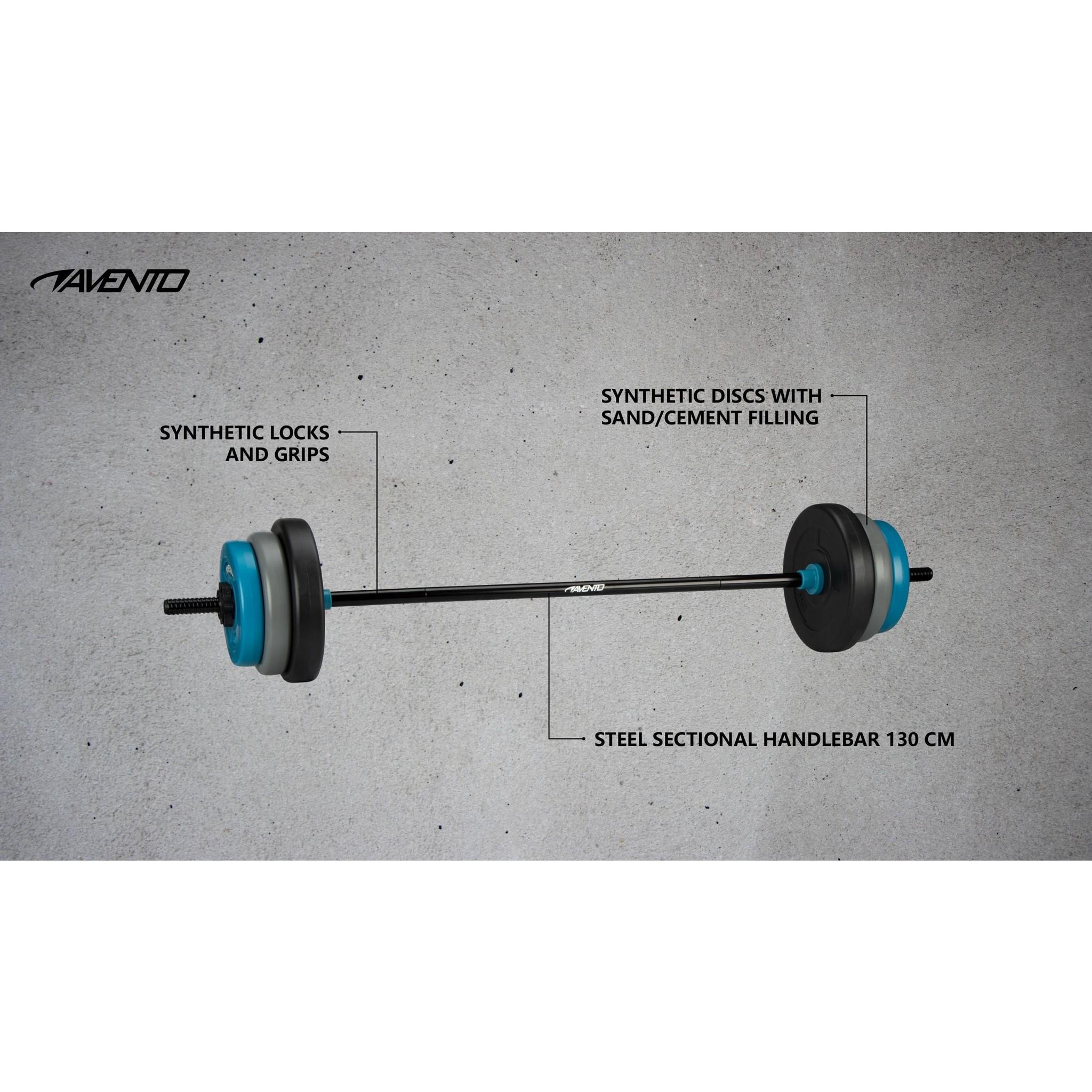 Avento® Halter Pump Set Verstelbaar - 20 Kg