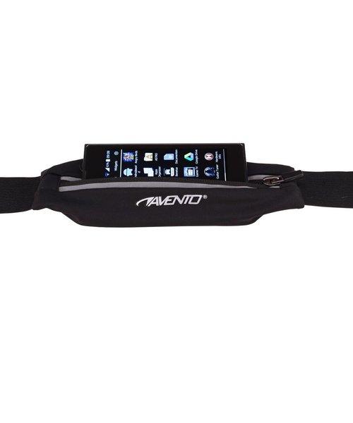 Avento Hardloop Riem Met Elastisch Tasje Voor Smartphone