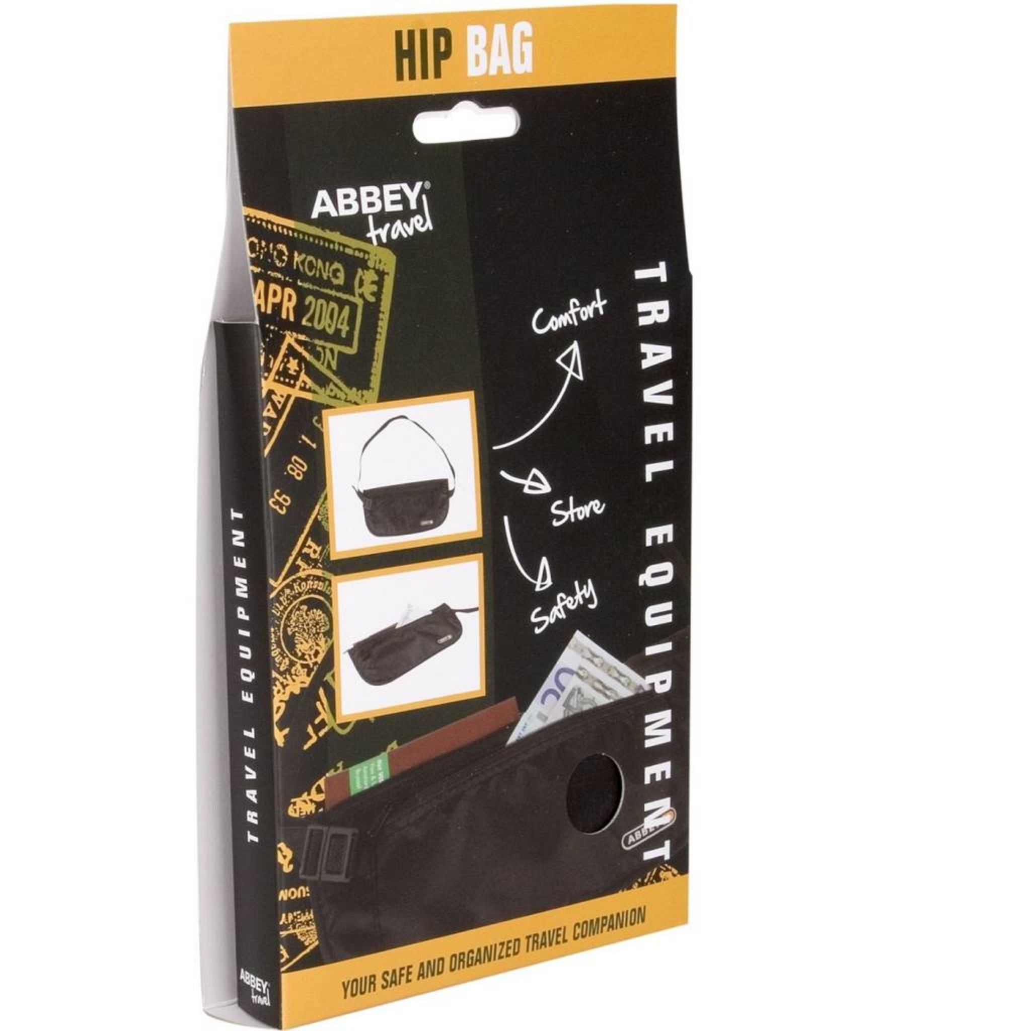 Abbey® Heuptas Travel Voor Onder Je Kleding