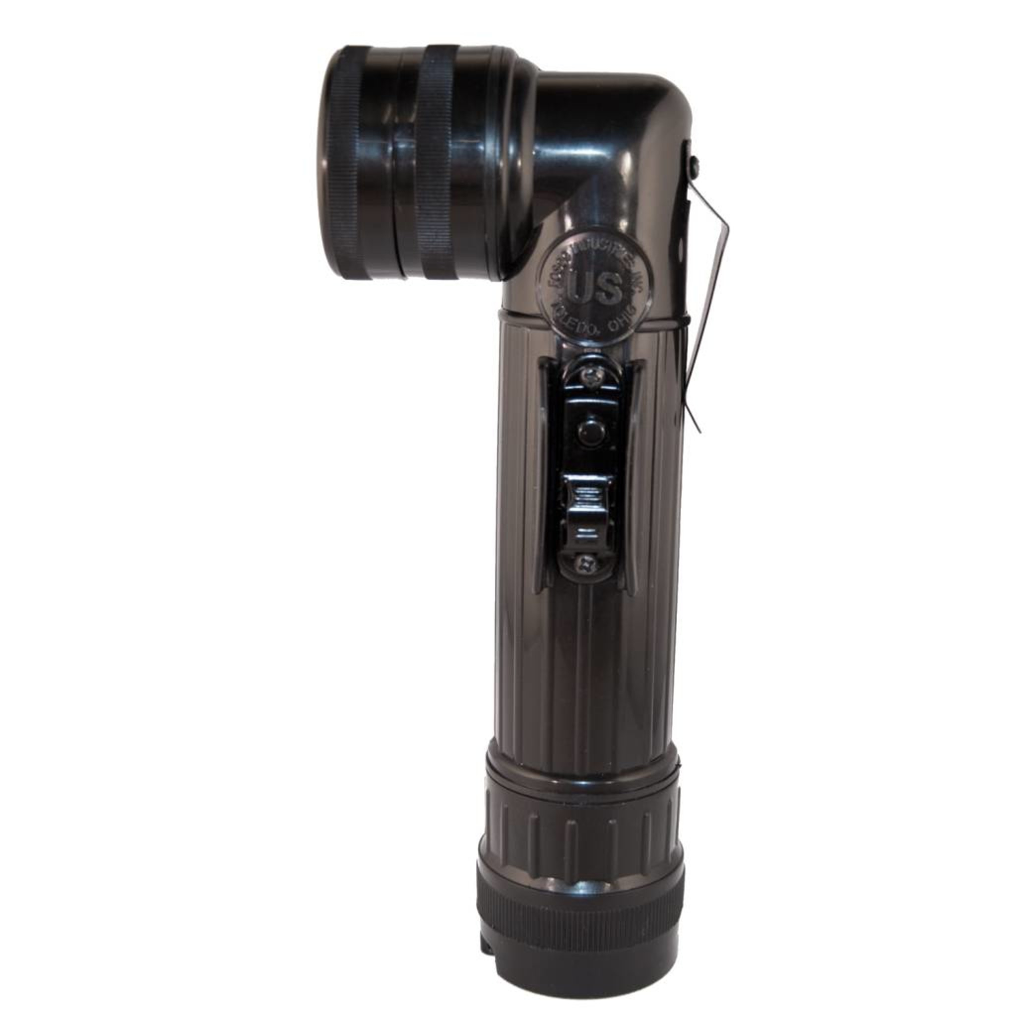 Grote Hoeklamp Zwart Met Opberghoes en Kleuren Filters