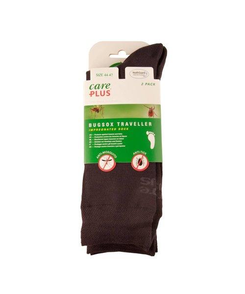 CarePlus Bugsoxtraveller Sokken Maat 44-47 Bundel 2-Paar