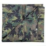 Camouflage Zeil Woodland 5 X 6 Meter
